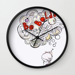 Be Bold! Wall Clock