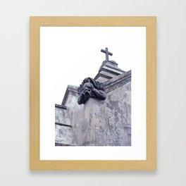Gargoyle of the Italian Vault Framed Art Print