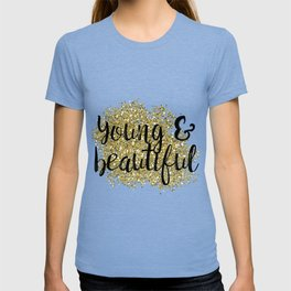 Young & beautiful - golden jazz T-shirt