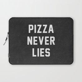 Pizza Never Lies Laptop Sleeve