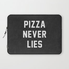 Pizza Never Lies Laptop Sleeve
