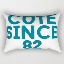 Cute Since 82 Rectangular Pillow