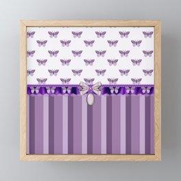 Dreaming Butterflies Framed Mini Art Print