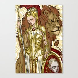Minerva/Virginia Canvas Print
