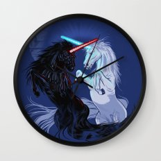 Retold with Unicorns Wall Clock