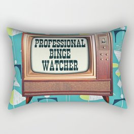 Professional Binge Watcher Rectangular Pillow
