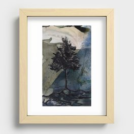 Earth and Water Recessed Framed Print