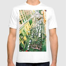 Protest In Naples Mens Fitted Tee White SMALL