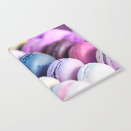 Lavender Purple Macaroons Notebook