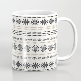 Nordic winter pattern Coffee Mug