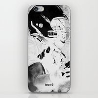 mad iPhone & iPod Skins featuring mad by Simone Colliva