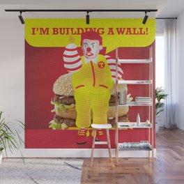 Mc Donald Trump Wall Mural