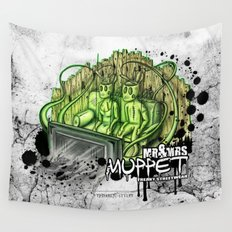 mr. & mrs. muppet Wall Tapestry
