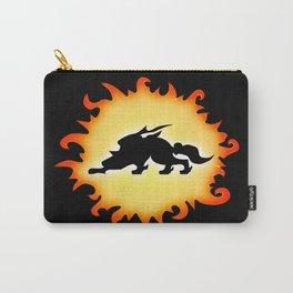 Amaterasu Logo- Black Carry-All Pouch