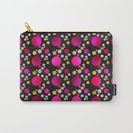 Circles - Pink Carry-All Pouch
