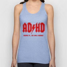 ADHD Highway to Hey! Unisex Tank Top