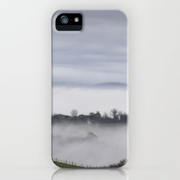 The Farm House Beyond - II iPhone Case