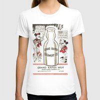 minnie mouse T-shirts featuring Old school mickey mouse / minnie Mouse / milk by tshirtsz