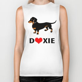 Doxie Love Biker Tank