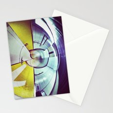 Empty Station-Abstract Stationery Cards