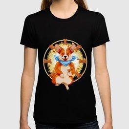Zen corgi T-shirt