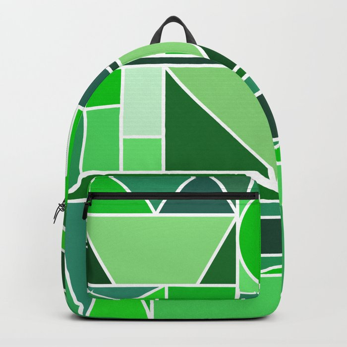 Kaku Green Backpack