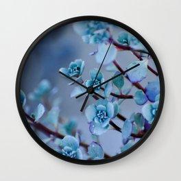 Stonecrop Succulent Wall Clock