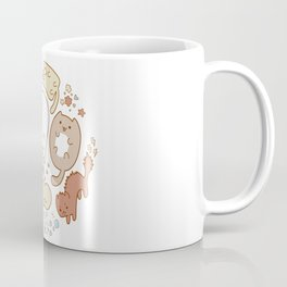 Seven cute cats. Coffee Mug
