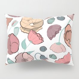 Oh my bold poppy! Pillow Sham