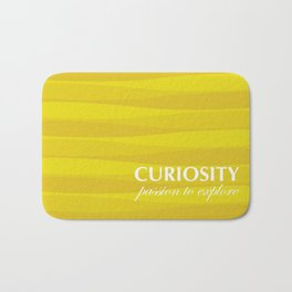 Yellow for Curiosity Bath Mat