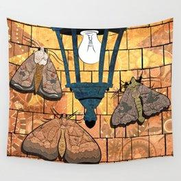 MOTH LIGHT Wall Tapestry
