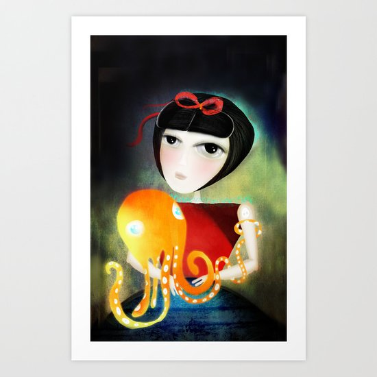 Hold on a little more Art Print