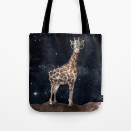 After Hours Giraffe Tote Bag