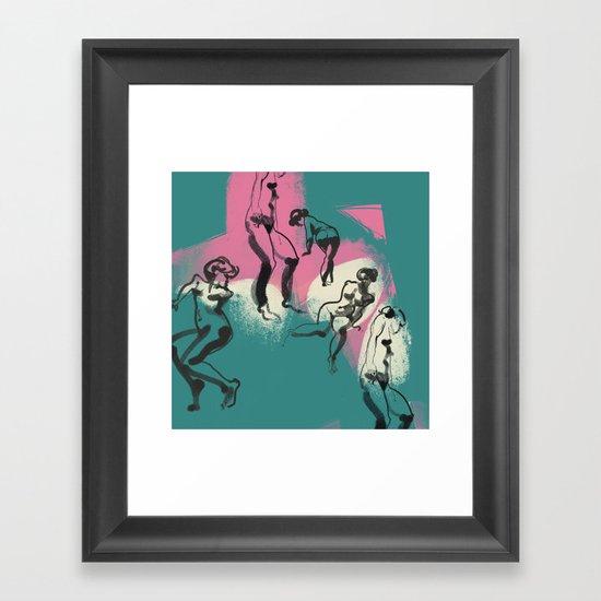 Gestures Framed Art Print