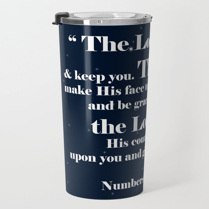 The Lord bless you Travel Mug
