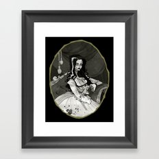 Bride of the Monster Framed Art Print