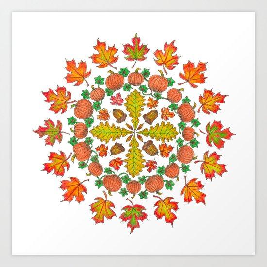 Autumn Mandala by katealli