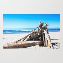 Drift wood Fort Rug