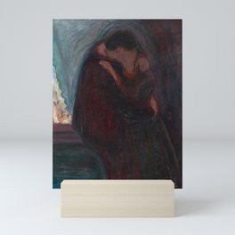 The Kiss - Edvard Munch Mini Art Print