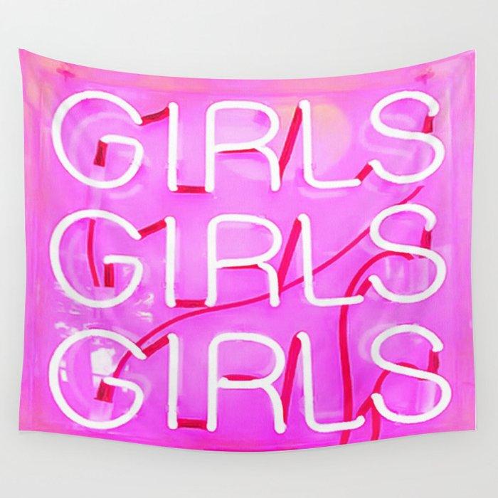 Girls Wandbehang