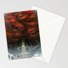 Tree of Duality Stationery Cards