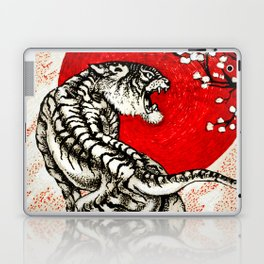 Japan Tiger Laptop & iPad Skin