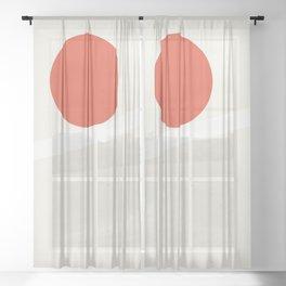 Balance 002 Sheer Curtain