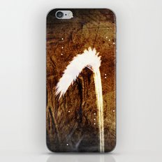 Glowing grass in starry cave iPhone & iPod Skin