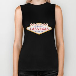 Welcome to Las Vegas Biker Tank