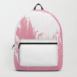 Pastel tropical fringe Backpack