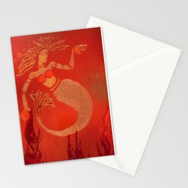 Hip Mermaid Stationery Cards