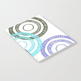 Bianca Circle Notebook