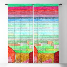 Paul Klee View into Fertile Country Blackout Curtain