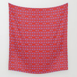 Chain Link Eyes Wall Tapestry